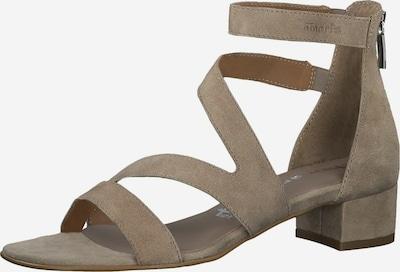 TAMARIS Sandale in taupe, Produktansicht