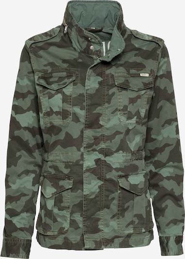Pepe Jeans Přechodná bunda 'MARLOW CAMO' - zelená / černá, Produkt