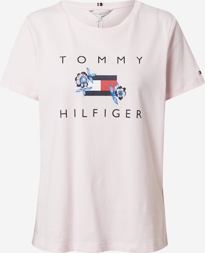 Tricou TOMMY HILFIGER pe navy / roz deschis / roșu, Vizualizare produs