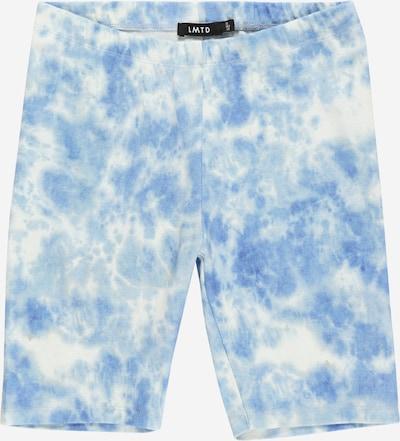 LMTD Leggings i ljusblå / vit, Produktvy