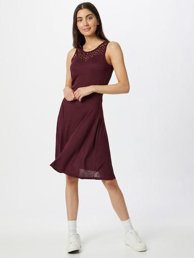 ONLY Kleid ' NICOLE LIFE' in weinrot, Modelansicht
