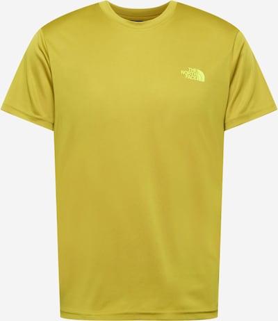 THE NORTH FACE Camiseta funcional 'REAXION' en amarillo / caña / blanco, Vista del producto