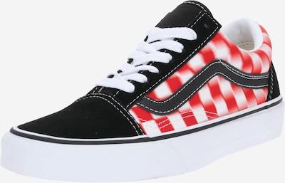 VANS Sneakers laag 'Old Skool' in de kleur Lichtrood / Zwart / Wit, Productweergave