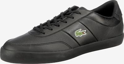 LACOSTE Sneaker 'Court-Master' in grün / schwarz / weiß, Produktansicht