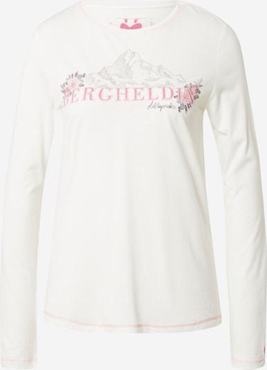 LIEBLINGSSTÜCK Tričko - světle šedá / zelená / růžová / offwhite, Produkt
