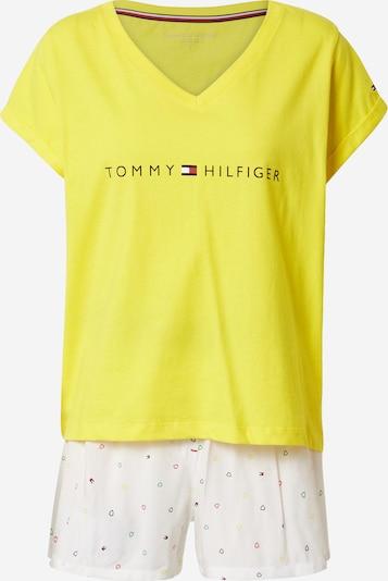 Tommy Hilfiger Underwear Kratke hlače za spanje | rumena / mešane barve / bela barva, Prikaz izdelka