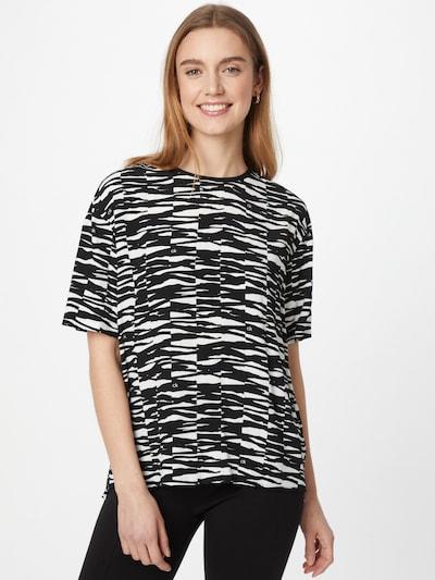 Calvin Klein Bluse in schwarz / weiß, Modelansicht