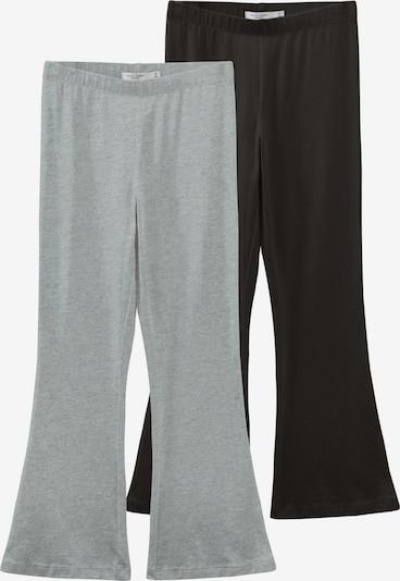 NAME IT Trousers 'Vivi' in mottled grey / Black, Item view