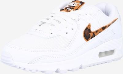 Nike Sportswear Sneakers laag 'Air Max 90' in de kleur Bruin / Kastanjebruin / Wit, Productweergave
