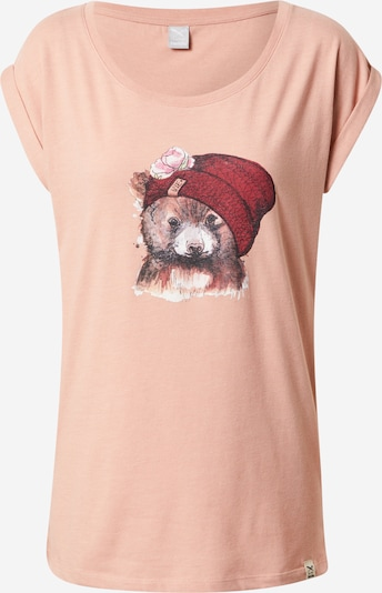 Iriedaily Camiseta 'It Beary' en mezcla de colores / rosé, Vista del producto