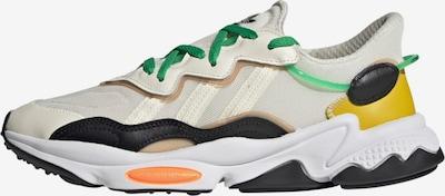 ADIDAS ORIGINALS Sneaker 'Ozweego' in beige / gelb / schwarz / weiß, Produktansicht