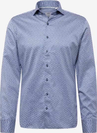 ETERNA Hemd in blau / naturweiß, Produktansicht