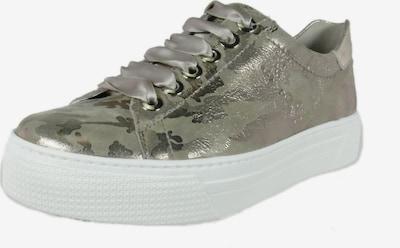 SEMLER Sneakers laag in de kleur Grijs / Zwart / Zilver, Productweergave