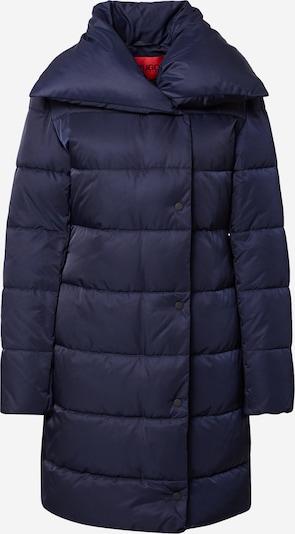 HUGO Ziemas mētelis 'Faria-1', krāsa - tumši zils, Preces skats