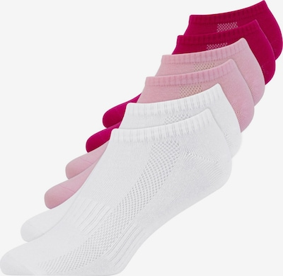 SNOCKS Sneakersocken in pink / rosa / weiß, Produktansicht