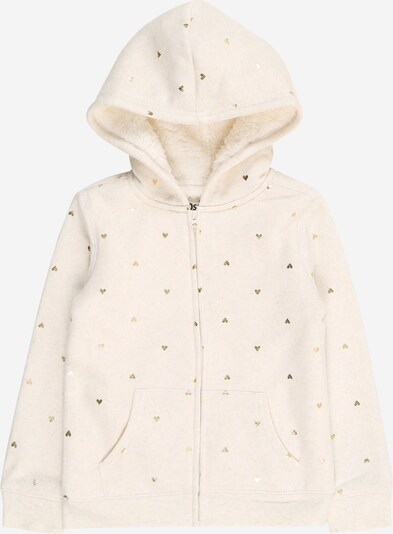 OshKosh Sweatjacke 'Heart' in beige, Produktansicht