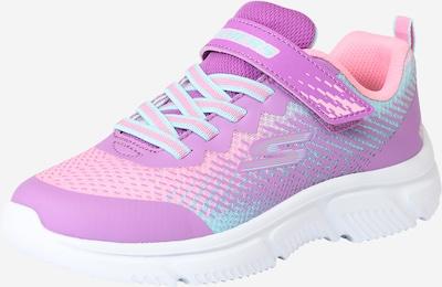 SKECHERS Brīvā laika apavi 'Go Run 650' zils / lillā / rožkrāsas, Preces skats