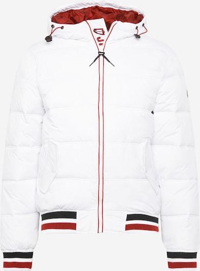 INDICODE JEANS Tussenjas 'Trejo' in de kleur Wit, Productweergave