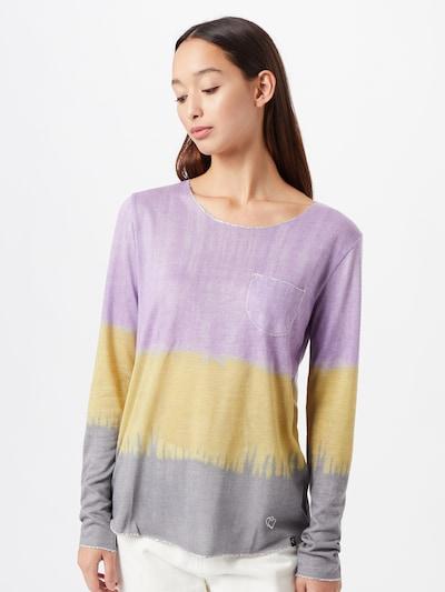 Key Largo T-shirt 'GRAVITY' en jaune / gris / violet: Vue de face
