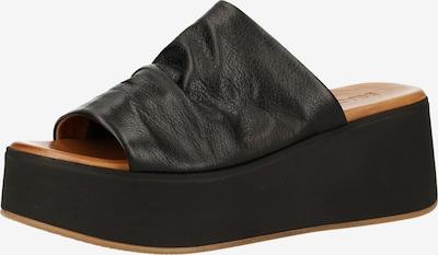 INUOVO Pantoletten in schwarz, Produktansicht