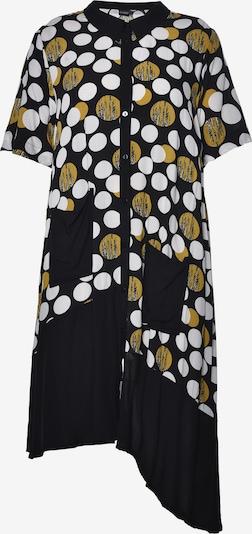 GOZZIP Kleid 'Ellen' in schwarz / weiß, Produktansicht
