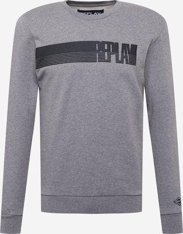 REPLAYSweater majica - siva boja