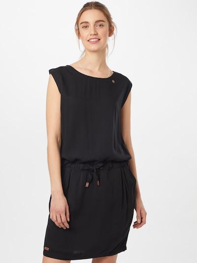 Ragwear Kleid 'Mascarpone' in schwarz, Modelansicht
