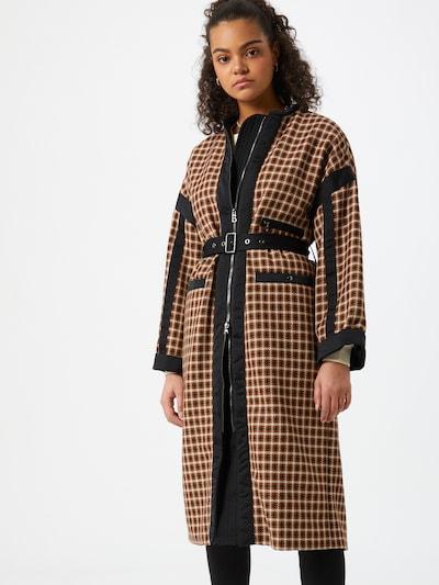 BOGNER Prechodný kabát 'RICARA' - béžová / hnedá / čierna, Model/-ka