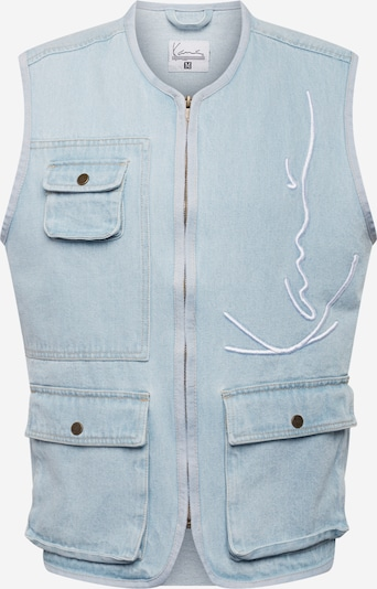 Karl Kani Weste in hellblau, Produktansicht
