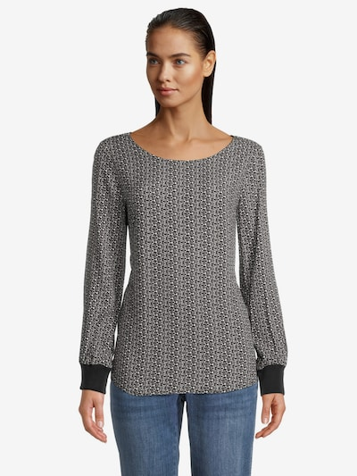 Betty & Co Blouse in Grey, View model