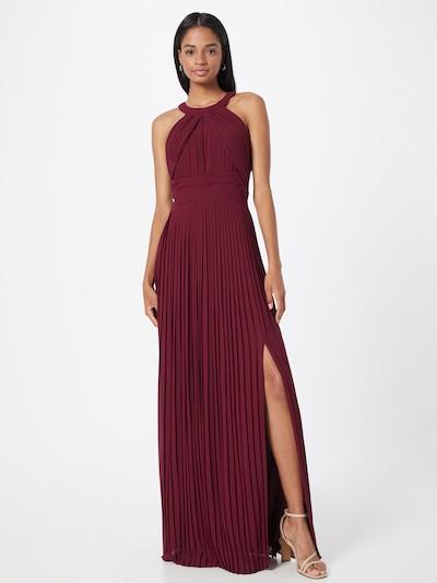 TFNC Kleid 'PRAGUE' in burgunder, Modelansicht