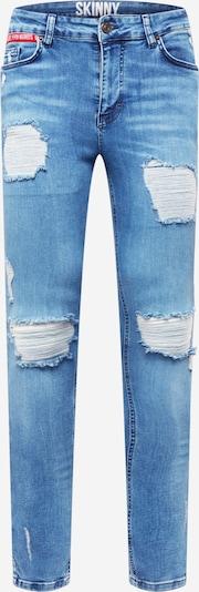 11 Degrees Jean en bleu denim, Vue avec produit