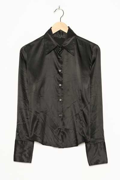 Amisu Bluse in L in schwarz, Produktansicht