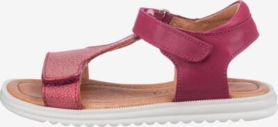BISGAARD Sandale in dunkelpink, Produktansicht