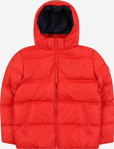 TOMMY HILFIGER Jacke 'ESSENTIAL DOWN JACKET' in rot, Produktansicht