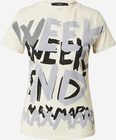 Tricou 'RANA' Weekend Max Mara pe bej / gri / negru, Vizualizare produs