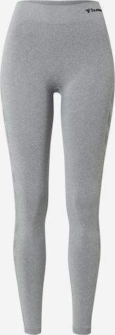Hummel Workout Pants 'Ci' in Grey