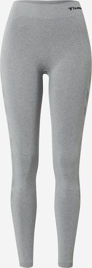 Hummel Sports trousers 'Ci' in mottled grey, Item view