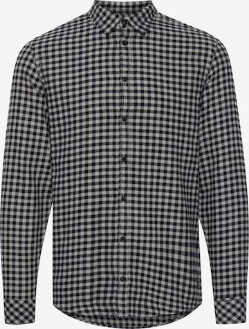 BLEND Hemd 'ALAN' in Grau