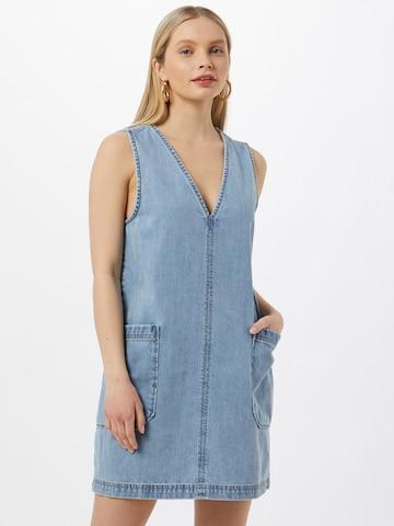 Global Funk Kleid 'Tia' in Blau