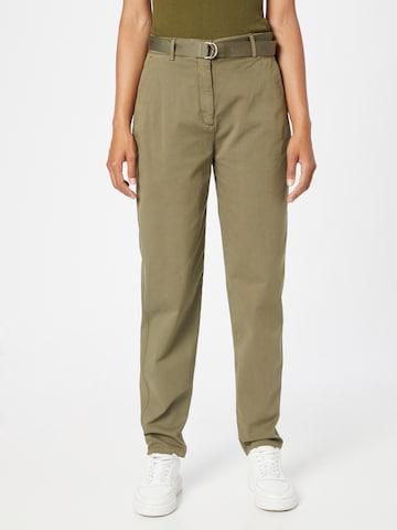 TOMMY HILFIGER Püksid, värv roheline