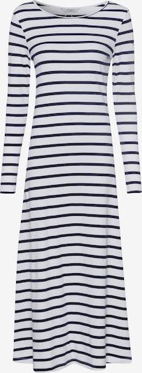 Tom Tailor Polo Team Kleid in marine / weiß, Produktansicht
