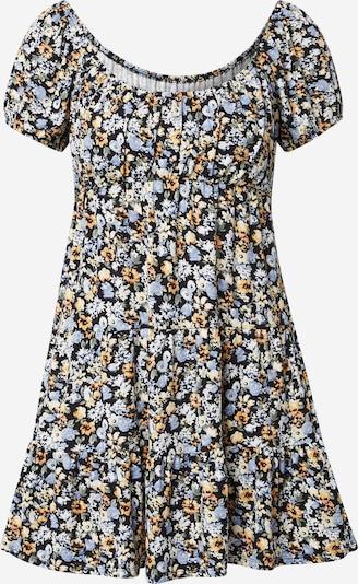 HOLLISTER Kleid in hellblau / gelb / schwarz, Produktansicht