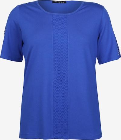 seeyou Shirt mit Ausbrenner-Muster in blau / royalblau, Produktansicht