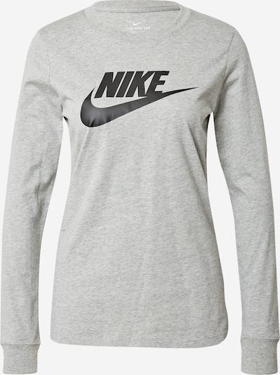 Tricou Nike Sportswear pe gri amestecat / negru, Vizualizare produs