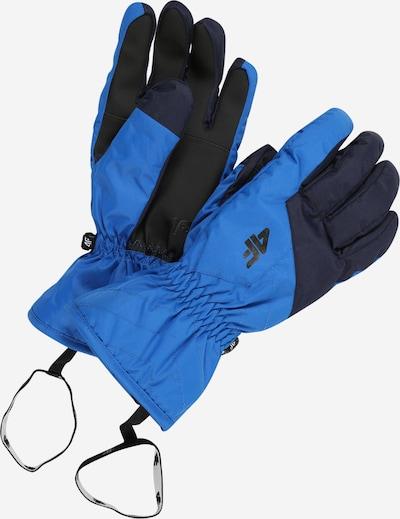 Mănuși sport 4F pe albastru / negru, Vizualizare produs
