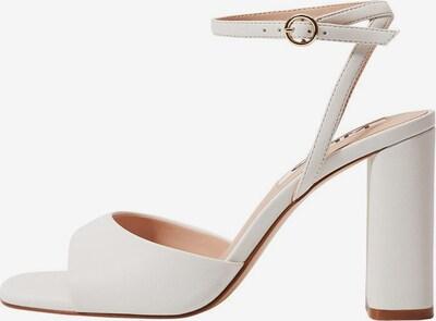 Sandale MANGO pe alb, Vizualizare produs