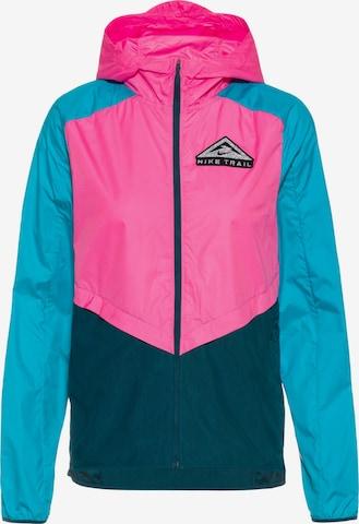 NIKE Athletic Jacket 'Shield' in Pink