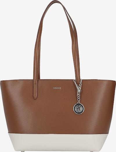 DKNY Tasche in braun / weiß, Produktansicht