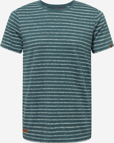 Ragwear Shirt 'STEEF' in Dark green / White, Item view